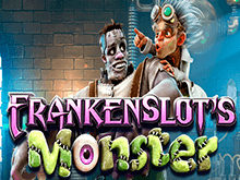 Играйте на деньги (на доллары) в Монстр Франкенслота